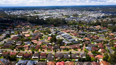 The number of Sydney suburbs where high rise apartments outnumber homes is increasing.