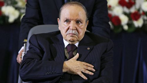 Abdelaziz Bouteflika suffered a stroke in 2013.