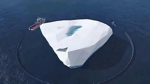 "Emirati ""Ice Pirate"" has bold plan to tow iceberg to UAE for drinking water"