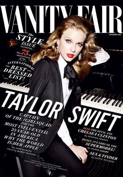 Taylor Swfit for <em>Vanity Fair</em> September 2015