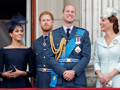 The royal 'fab four' join forces (again) for a good cause