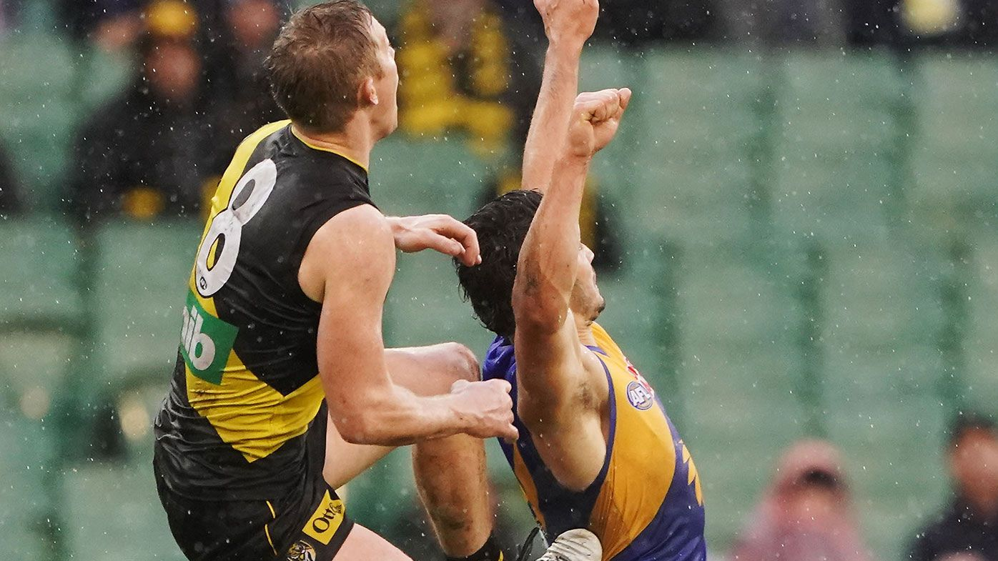 AFL set to change interpretation of controversial 'studs up' marking rule