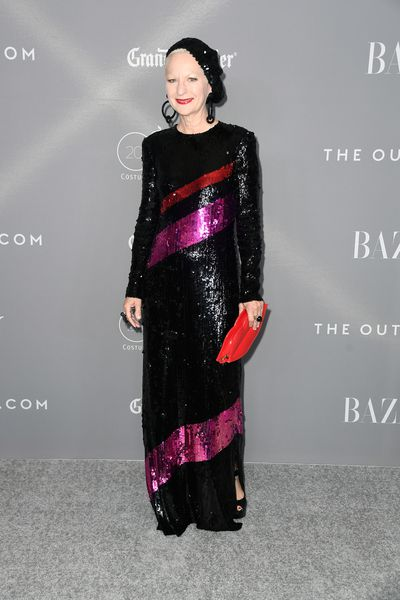 Costume designer Lou Eyrich at the 20th Annual Costume Designers Awards