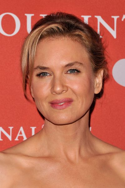 <p>Zellweger opted for a bright pink lip and thick fluttery lashes for an appearance at the 29th annual Fashion Group International Night of Stars in New York City in 2012.</p> <p> </p>