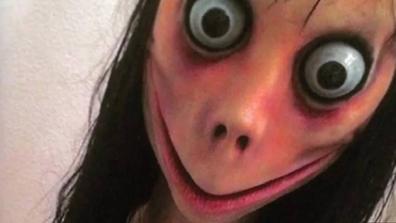 Momo image scary