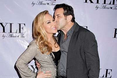 Beverly Hills star Adrienne Maloof went through her own bitter battle, splitting from plastic Surgeon Paul Nassif in mid 2012.  <br/><br/>Adrienne's personal chef Bernie Guzman released disturbing Images of Adrienne bruised and marked, allegedly as a result of abuse by her husband, with Adrienne later obtaining a temporary restraining order against him after allegedly choking one of their sons. Their divorce was finalized at the end of 2012.