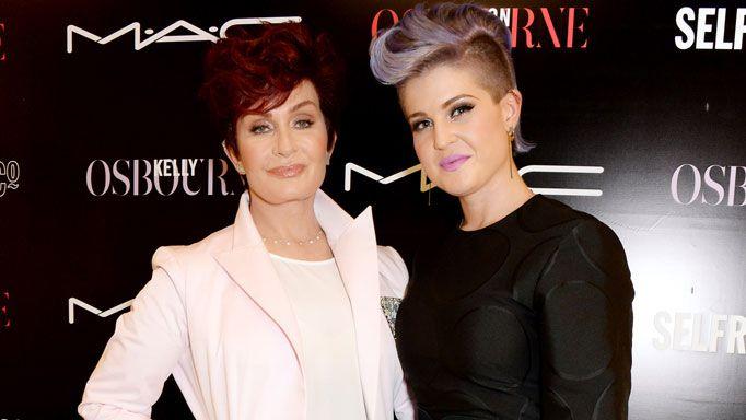 Sharon and Kelly Osbourne