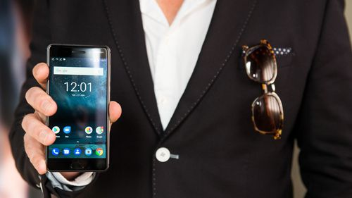 The three new Android smartphones were launched in Sydney today. (Dominic Loneragan)