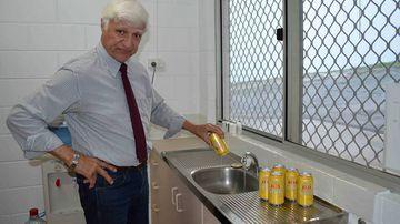 Bob Katter reckons XXXX Gold is headed down the drain. (Image: Sarah Mennie)