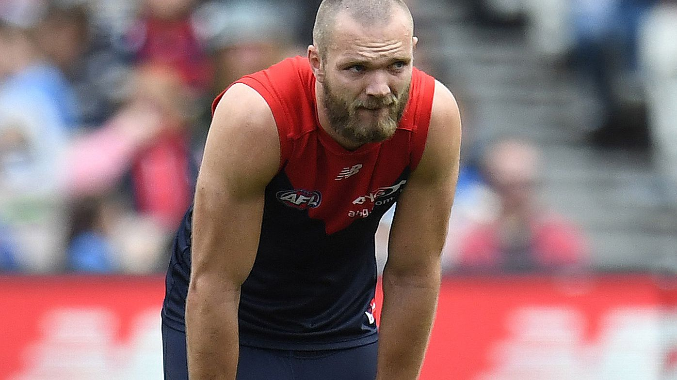 Star Demon Max Gawn escapes training scare with minor knee damage