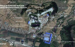 New satellite photos show activity at suspected North Korean nuclear facility