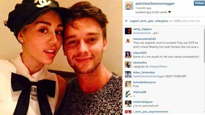 Miley Cyrus, 22, and Patrick Schwarzenegger, 21
