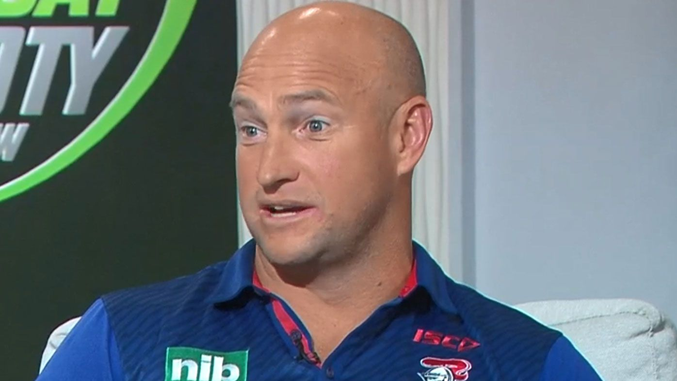 Newcastle Knights coach Nathan Brown calls for return of captain's challenge