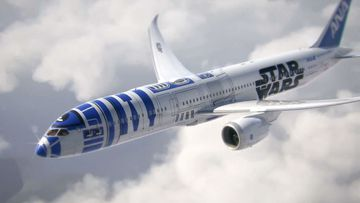 Definitely the droid you are looking for: Japanese airline unveils jet with R2-D2 paint job