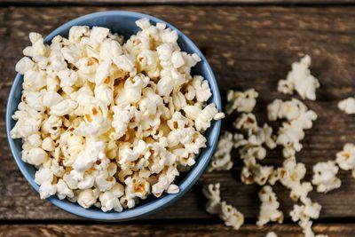 Popcorn: Air popped