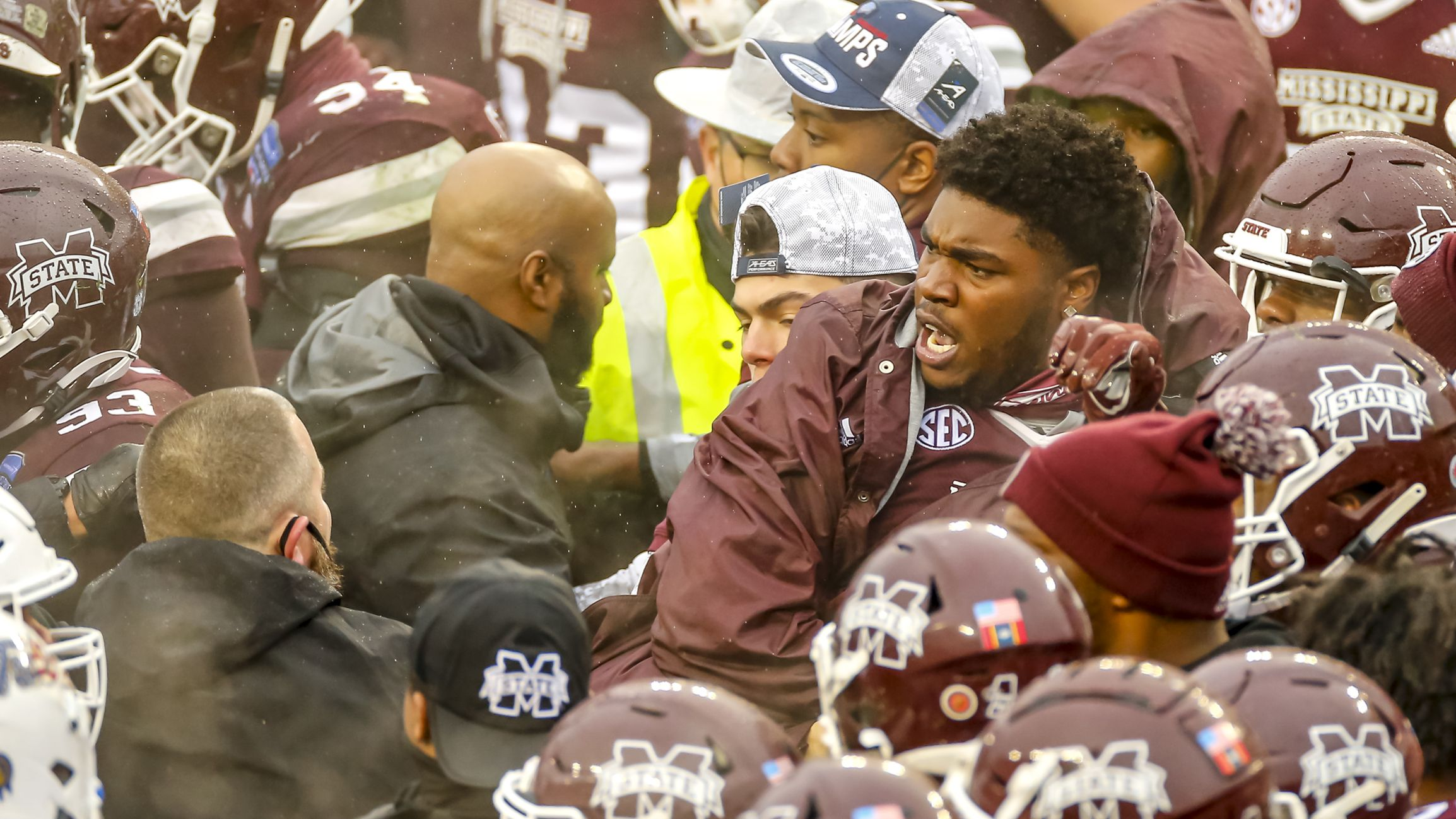 Mississippi State tops Tulsa in brawl-marred Armed Forces Bowl