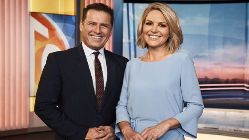 Gardner's new role on TODAY comes after Lisa Wilkinson's departure from Channel Nine last October. (Channel 9)