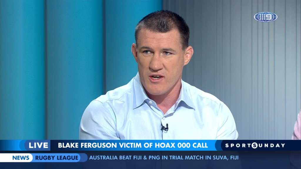 Gallen gives his take on Ferguson drama