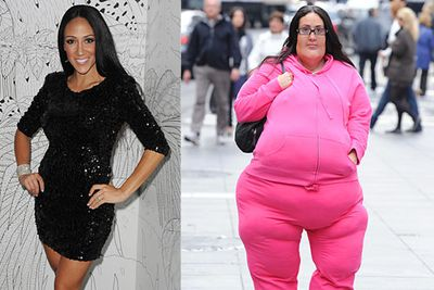 The <i>Real Housewives of New Jersey</i> star wore this crappy fat suit as a social experiment on <i>Entertainment Tonight</i>.