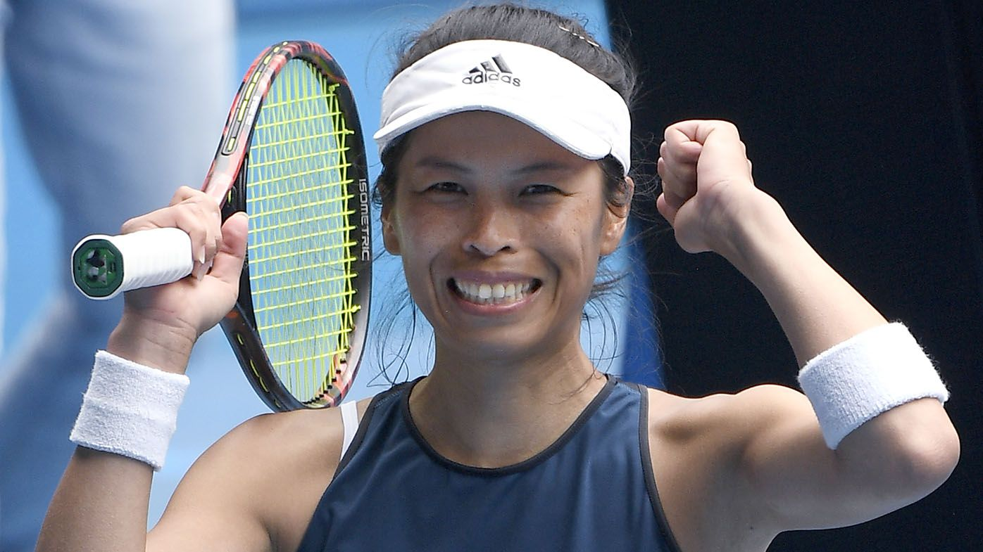 Hsieh Su-Wei makes history at AO by reaching maiden Grand Slam quarter-final at 35