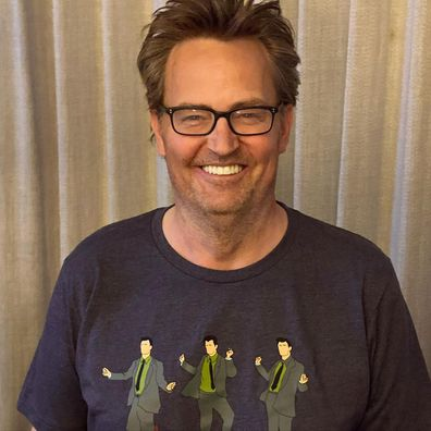 Celebrities on dating apps, Matthew Perry