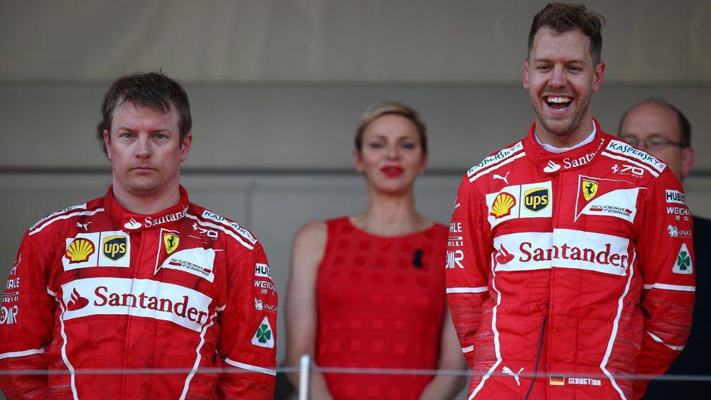 Ferrari's Kimi Raikkonen seethes as Sebastian Vettel wins Monaco GP
