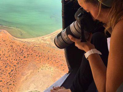 "New York's Director of Public Diplomacy said Boz's work ""beautifully portrays the raw beauty of the Australian landscape"" (Hulia Boz)."