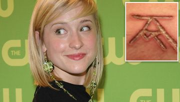 Allison Mack attends the The CW Upfront Red Carpet at Madison Square Garden in New York. (Getty)