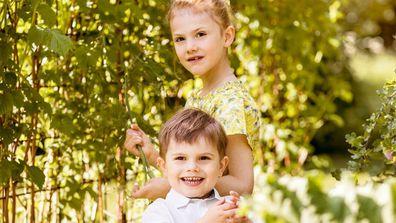 Swedish royal family children summer