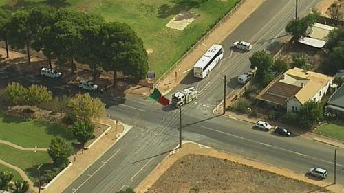 Child killed Balaklava South Australia