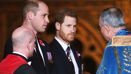 "Prince William said Alexander is a ""good name"". (PA/AAP)"