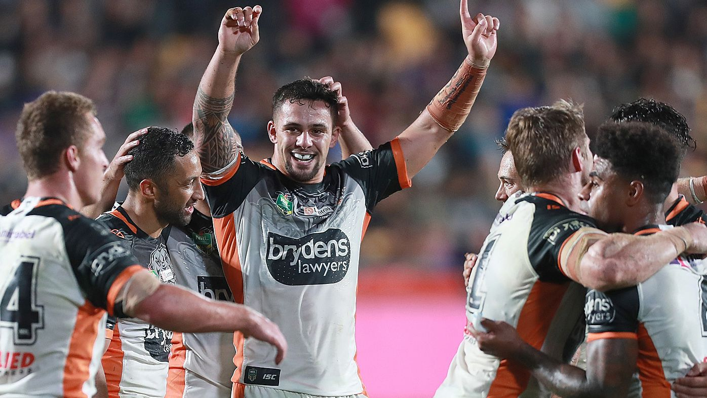 Wests Tigers spoil Craig Bellamy's NRL milestone game with win over Melbourne Storm