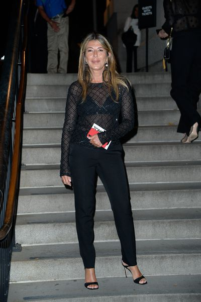 Project Runway's Nina Garcia at Tom Ford's spring/summer 2019 collection for New York Fashion Week, September, 2018