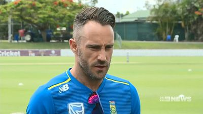 Faf du Plessis questions the effectiveness of new-look friendly Australian team