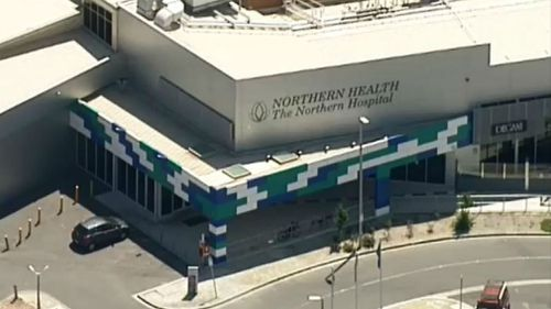 Northern Hospital in Epping. (9NEWS)