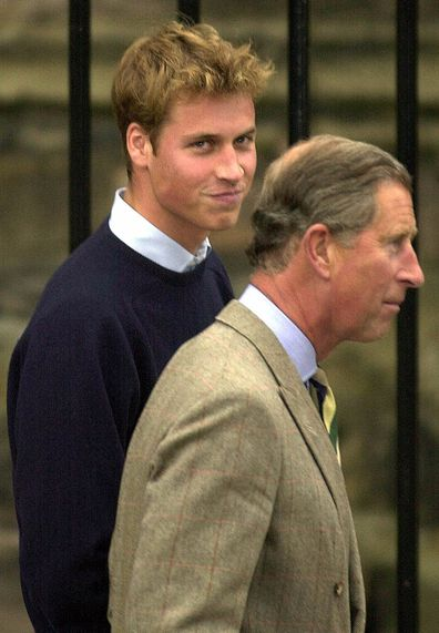 Prince William and Prince Charles in Scotland
