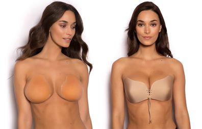 How to use stick on bras for backless outfits