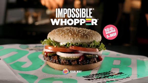 Impossible Burgers partner with Burger King