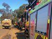 Crews are tackling a bushfire in north west Sydney.