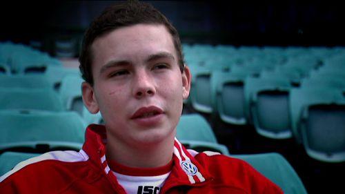 Sydney student Cooper Rice-Brading battled osteosarcoma for 18 months.