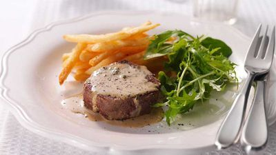 <strong>Steak diane</strong>