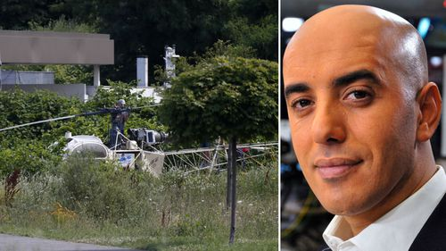 Redoine Faid staged a dramatic escape from a French prison using a helicopter. (AAP)