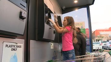 wagga's seven year old recycling queen