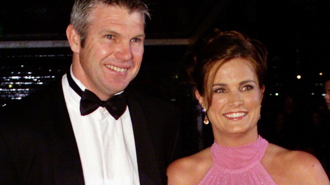Late AFL great Danny Frawley had CTE, wife confirms, AFL has known for months