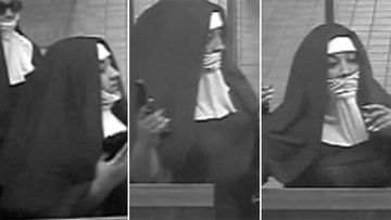 Fake nuns on the run after failed bank robbery