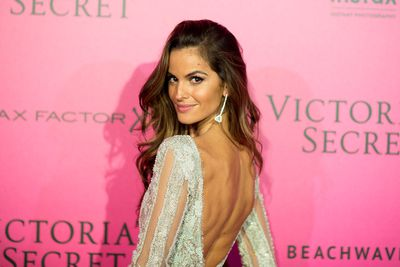 Izabel Goulart at the Victoria's Secret Fashion Show after party at Le Grand Palais, Paris.
