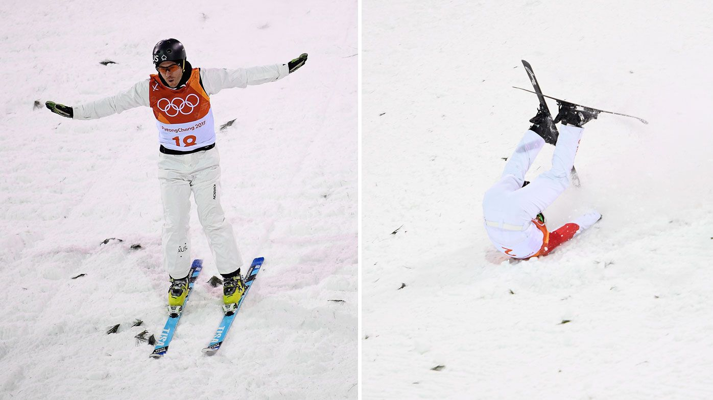 Australia's David Morris controversially eliminated from men's aerials final at Winter Olympics