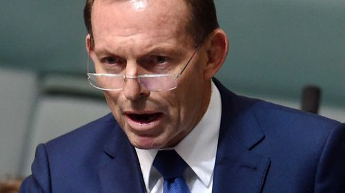 Tony Abbott. (AAP)