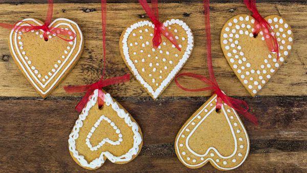 Kirsten Tibballs' Christmas gingerbread