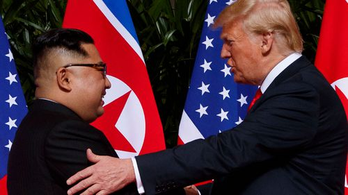US President Donald Trump and North Korean dictator Kim Jong-UN have met for an historic summit in Singapore.
